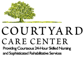 Courtyard Care Center Summer Luau